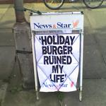Holiday Burger Ruined My Life